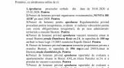 Ședința ordinară a CL Bușteni in 27.02.2020, ordinea de zi și votul