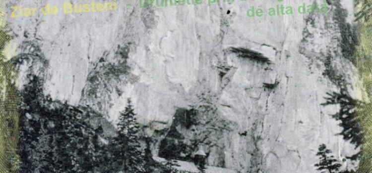 Prin Parcul Natural Bucegi acum 100 de ani