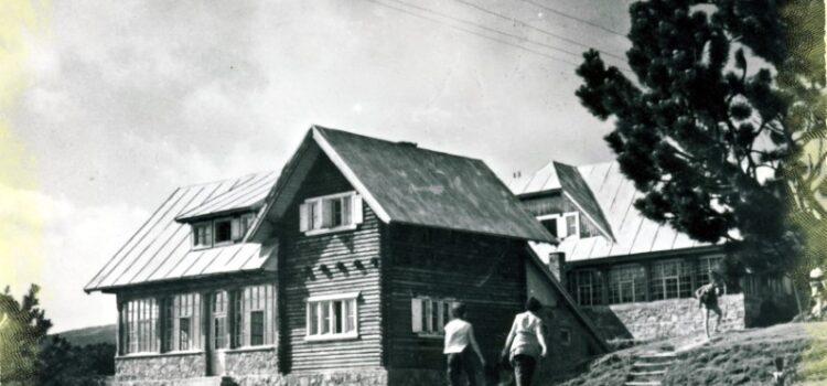 Cabana Piatra Arsa – Prin PNB acum 100 de ani !