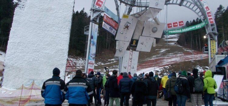 Cupa Mondială de Escaladă pe Gheață se desfășoară in șoaptă