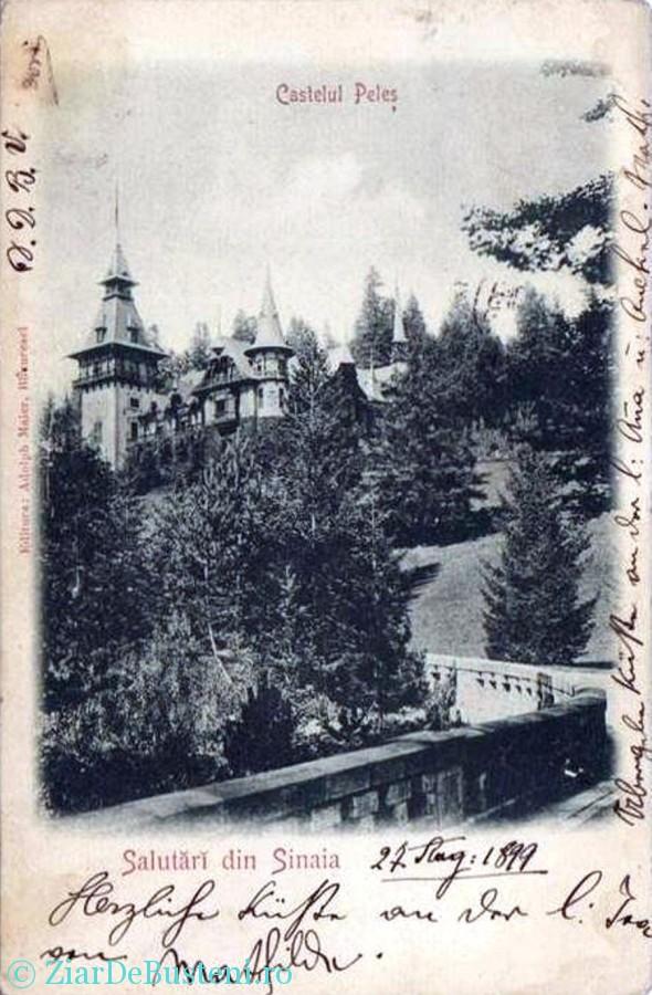 Castelul Peles 1899
