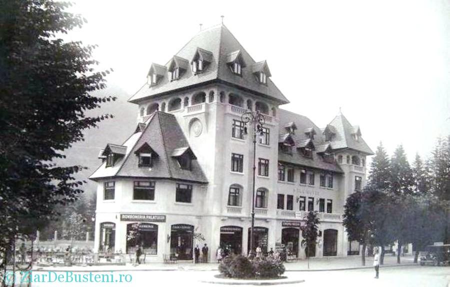 Hotel Cerbul si cofetaria 1930