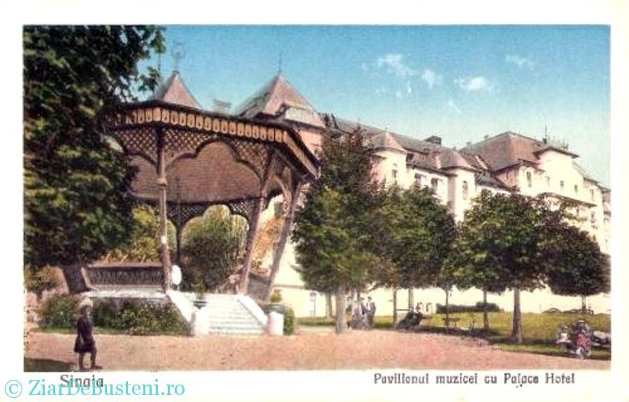 Parc Ghica PAvilion muzical