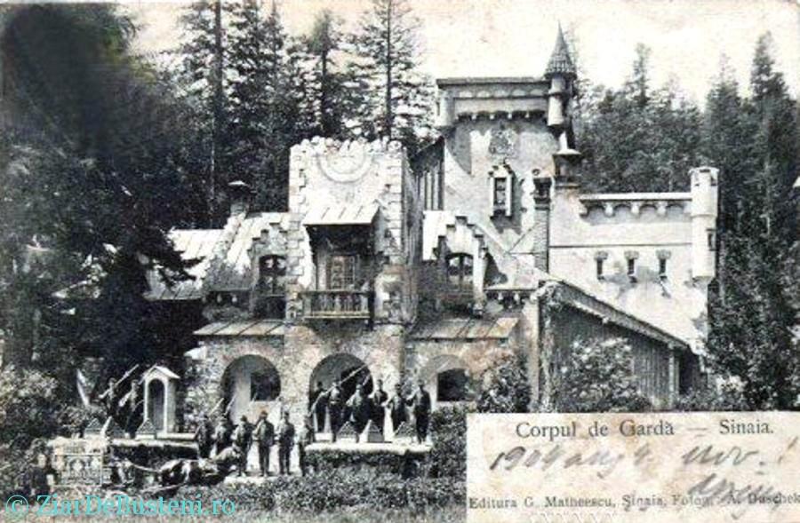 Sinaia - Corpul de garda, 1904
