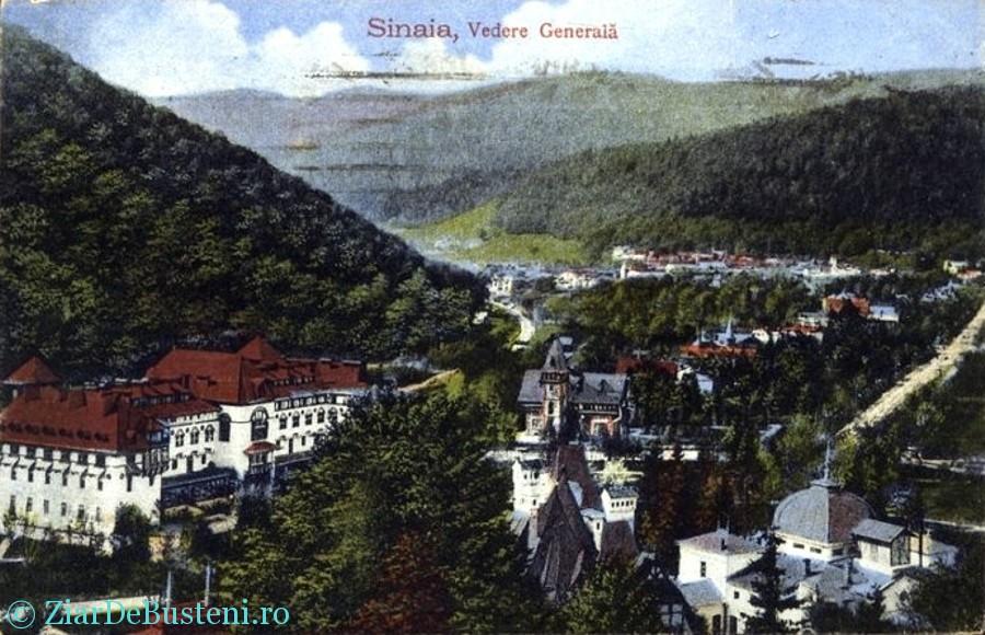Vedere Generala cu Hotel Caraiman