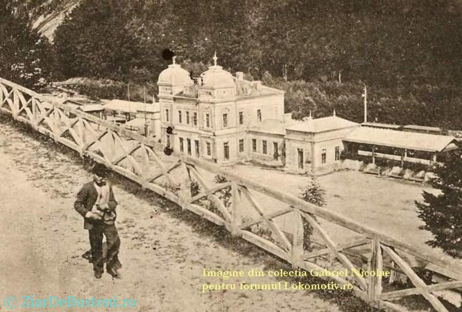 gara sinaia 1900
