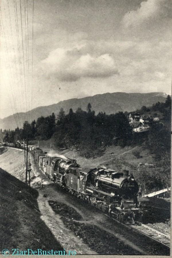 intrarea trenului in sinaia