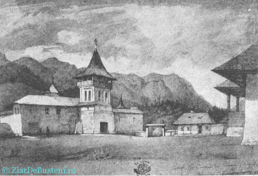 manastirea sinaia old