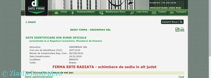 radiere greenprav