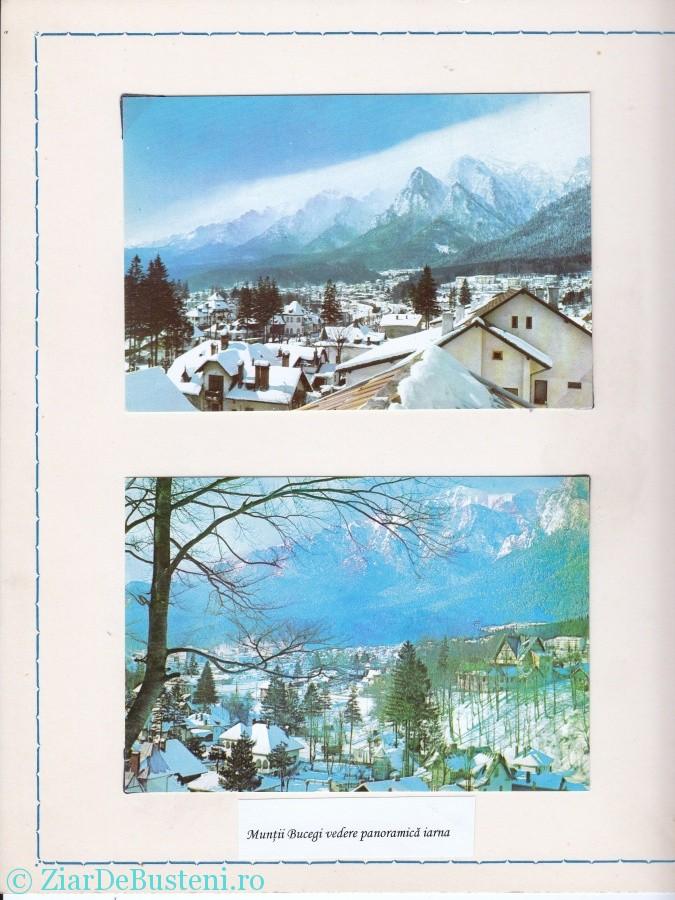 002 Muntii bucegi vedere panoramica iarna
