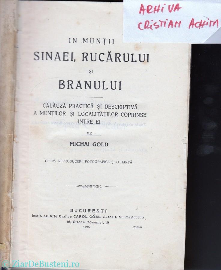 Mihai Gold 1910 Busteni