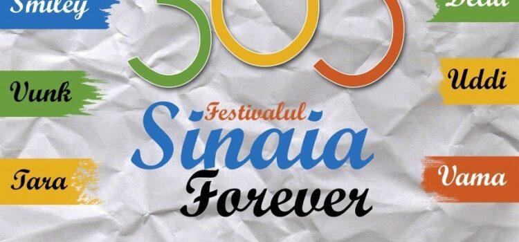 Vă poftim la cea de-a XXI-a ediției a Festivalului Sinaia Forever in acest weekend 4 – 6 septembrie