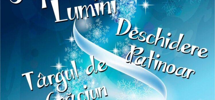 Se aprind luminile de sărbători la Bușteni și la Sinaia