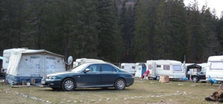 Tabara de refugiați din calea cheltuielilor de intretinere din Valea Cerbului-Bușteni este funcțională