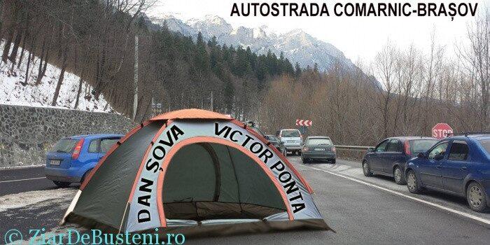 Autostrada Comarnic Brașov și cortul