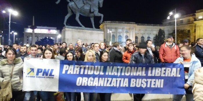 Despre mitingul PNL din București din 6 noiembrie