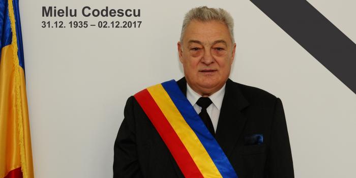 Mielu Codescu, fost Primar al Orașului Bușteni, a decedat