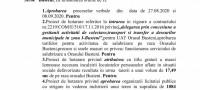 Ultima ședință ordinară a CL Bușteni din mandatul 2016 – 2020, ordinea de zi și votul
