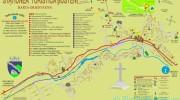 Bușteni , Harta stradală si obiectivele de importanță locală