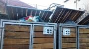 Leoparzii din fața gardului nevopsit, de la Bușteni