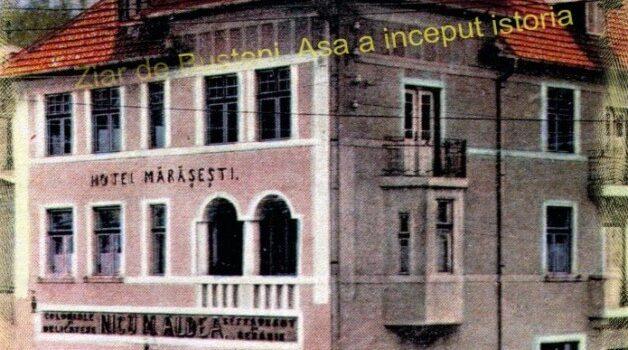 Bușteni – Hotel Mărășești – Unii au luptat pentru ce au avut ! – repostare