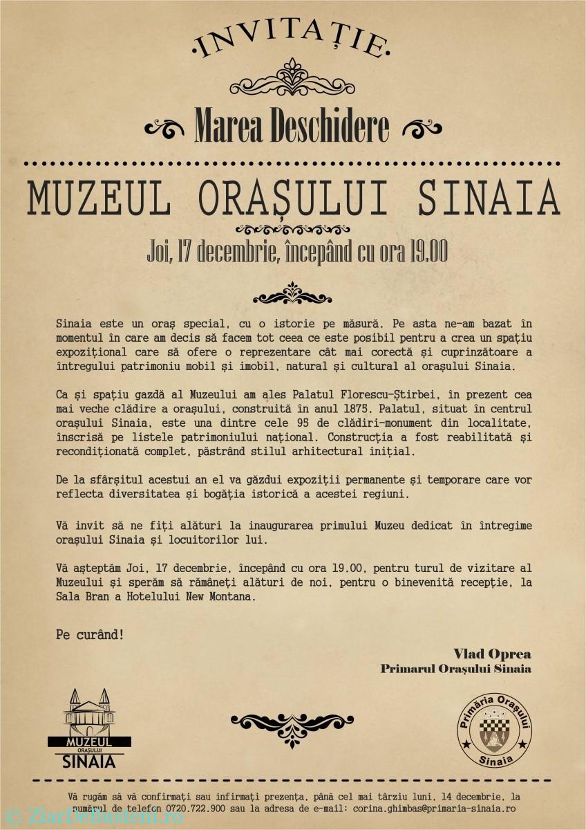 Invitatie_Muzeul_Sinaia