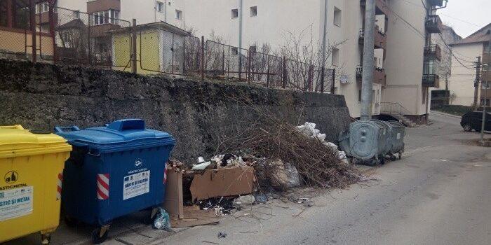 Leapșa curățeniei de primăvară la Bușteni