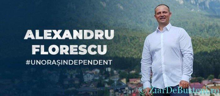 Alexandru Florescu – Candidat INDEPENDENT pentru Primăria orașului Bușteni