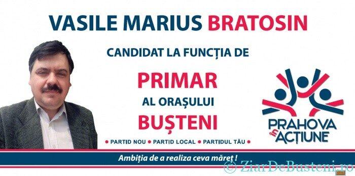 Alegeri locale 2020 Busteni – Prezentarea candidatului Partidului Prahova in actiune – Marius Bratosin