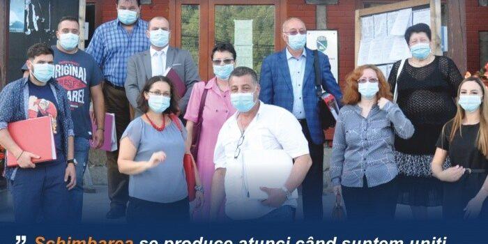 Primarul Irinel Ghiță şi-a depus candidatura din partea PSD pentru un nou mandat de primar al oraşului Bușteni!