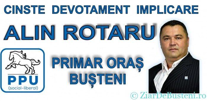 Alegeri locale 2020 Busteni – Prezentarea candidatului P.P.U.(sl) – ALIN ROTARU